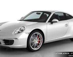 porsche 911 carrera s 2015 3d