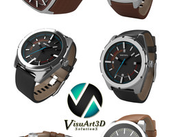 Diesel Watches Collection 3D Model