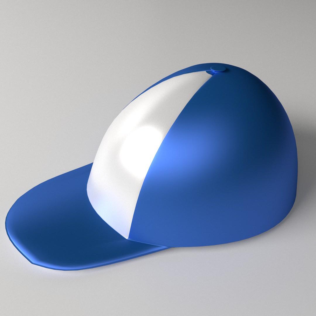 ... comments 0 baseball cap 3d model baseball cap modeled in blender