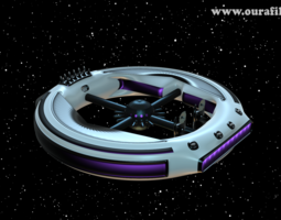 space base 3d model obj 3ds mtl