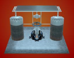 3D Sci-Fi Structure VI