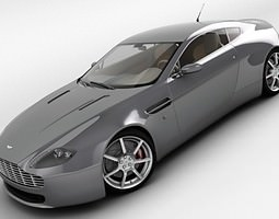 2006 Aston Martin V8 Vantage 3D Model