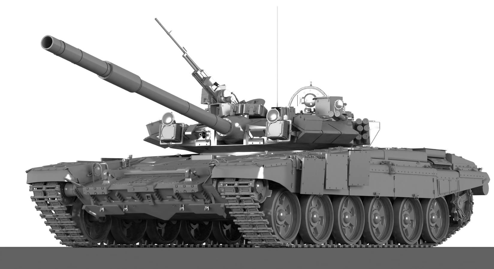 T a russian main battle tank d model max cgtrader