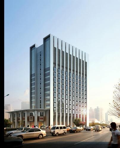 City Building3D model
