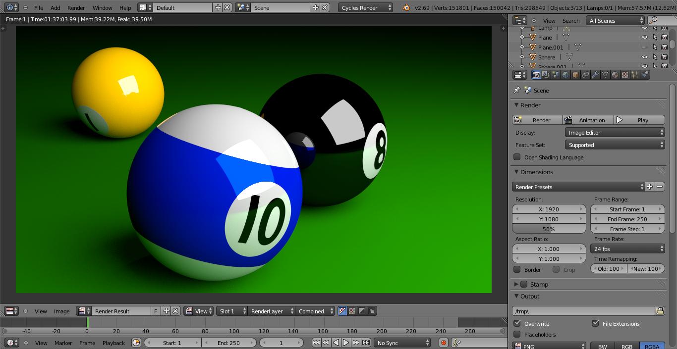 3d 4 pool balls | cgtrader