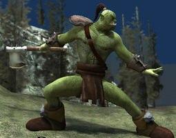 Durotan Orc (for Poser) 3D Model