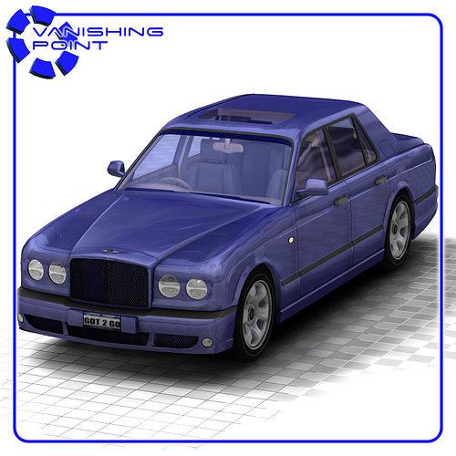 bentley arnage for poser 3d model obj mtl pz3 pp2 1