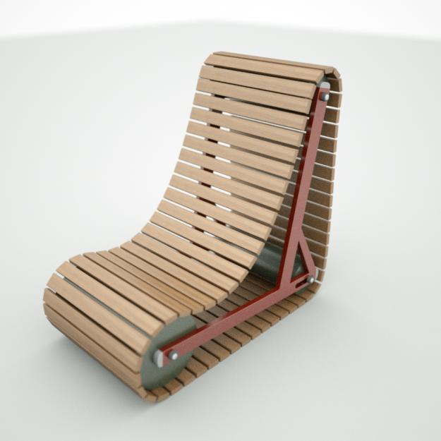 Tank Chair 3d Model Obj Fbx Lwo Lw Lws Cgtrader Com
