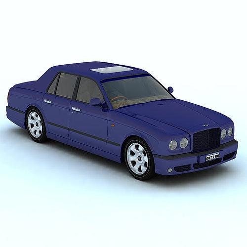 3D Model Bentley Arnage For Vue