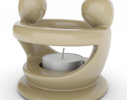 Tealight Holder 05 3D Model