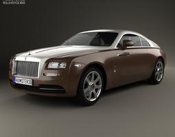 rolls-royce wraith 2014 3d model