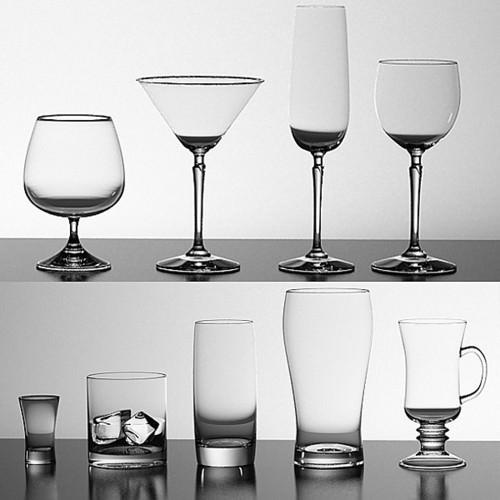 Glasses Set3D model
