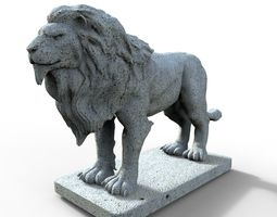3D printable model Lion Gargoyle