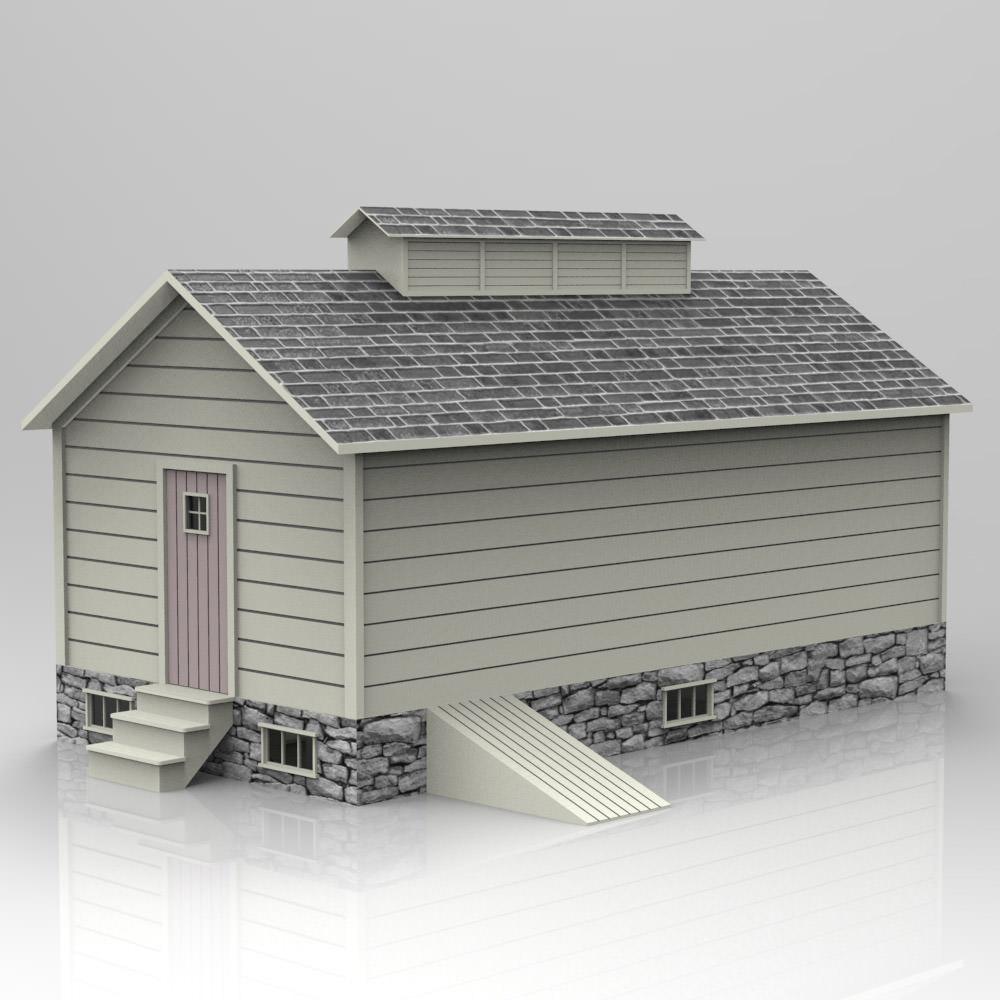 Ice house studio max 3d model max pdf for 3d studio max models