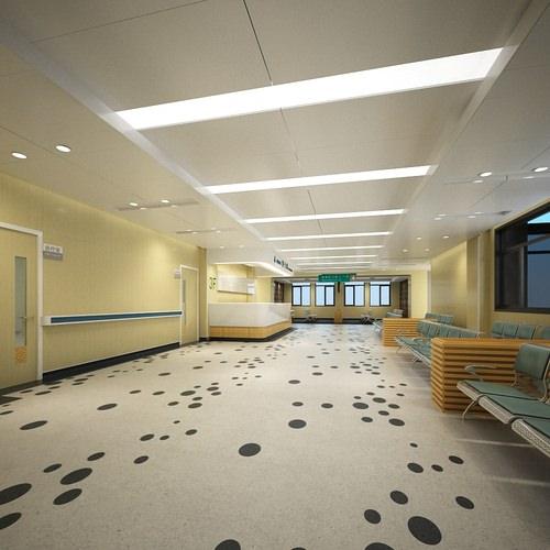 3D model Hospital Reception Room CGTrader
