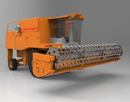 Combine Harvester Poser 3D model