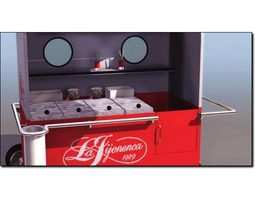 ice cream trolley studio max 3d