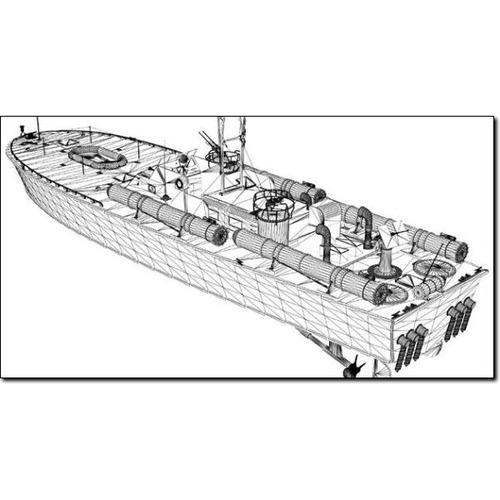 Pt 109 Us Torpedo Boat Studio Max