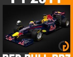F1 2011 Red Bull RB7 - Red Bull Racing 3D Model