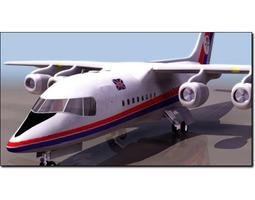 3D model British Aerospace BA146 Studio Max