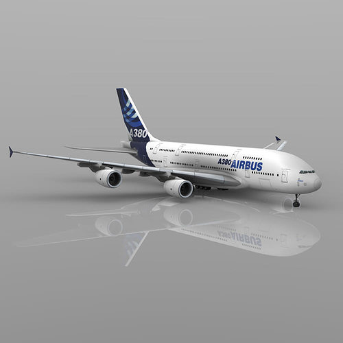 airbus a380 vue 3d model rigged vue pdf 1
