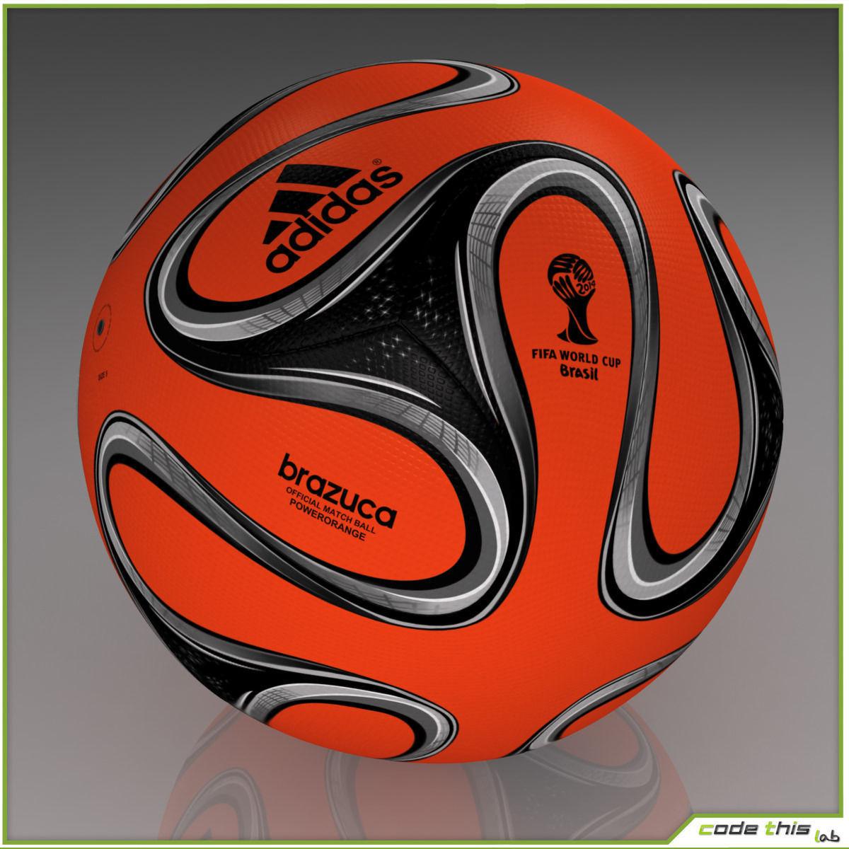 Brazuca Official Soccer Ball World - 176.3KB