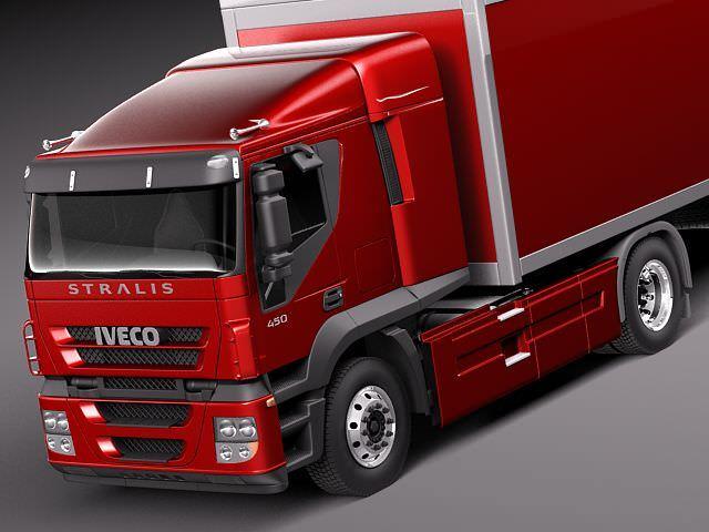 Iveco Stralis 20113D model