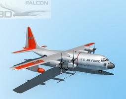 Falcon3D C-130 Hercules USAF SAR 3D Model