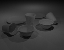 3D model Dishes