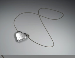 Love Necklace 3D Model