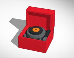 Record player model 3D Model