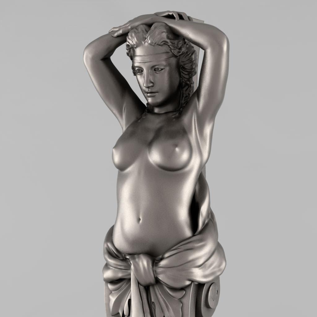 Greek Caryatid women