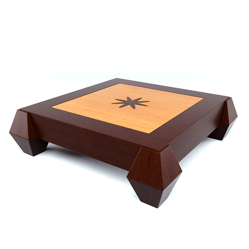 Coffee table 3d model skp for Coffee table 3d model