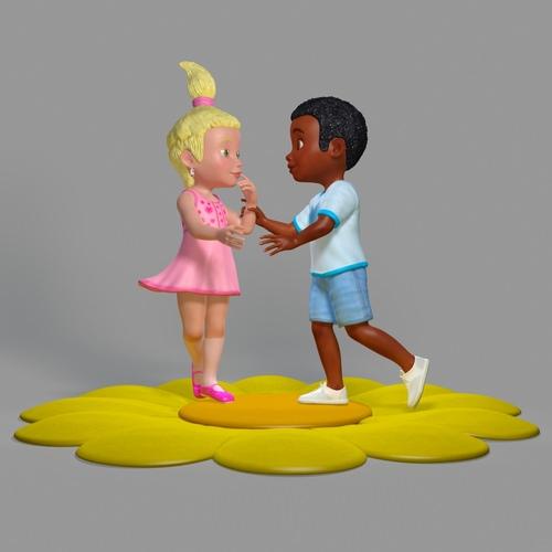 Sweet Children Scene3D model