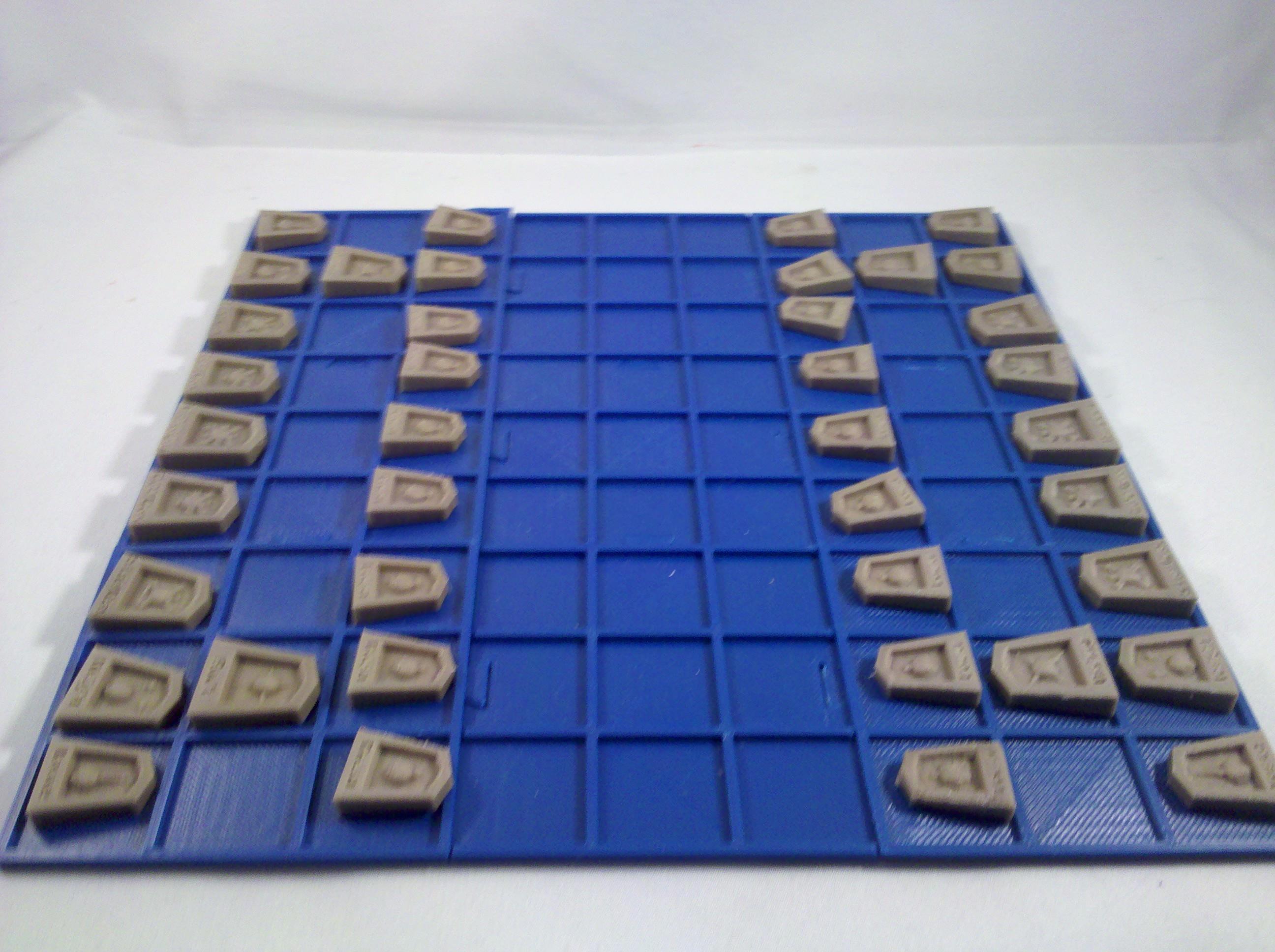shogi iconified pieces 3d models cgtradercom