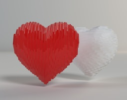 3D printable model Heart Shapes