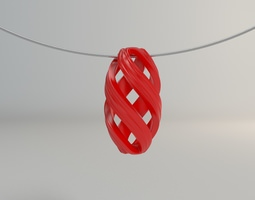 3D printable model Necklace Ornament 001