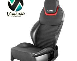 car seat VRS III 3D Model