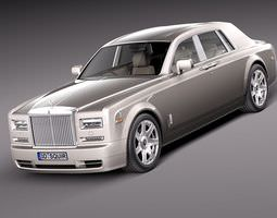 Rolls Royce Phantom 2013 3D Model