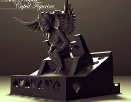 Multi Purpose Cupid Figurine 3D Model