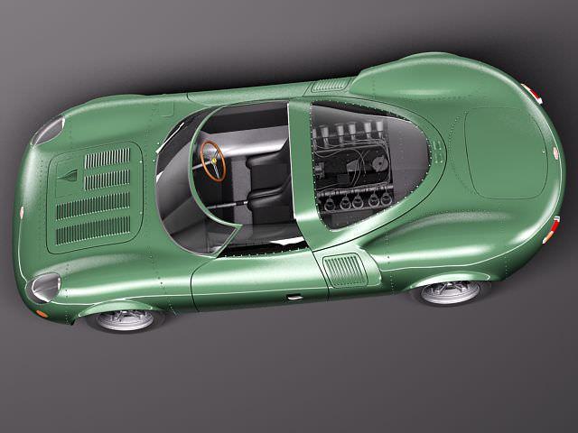 Jaguar XJ13 1966 3D Model .max .obj .3ds .fbx .c4d .lwo ...