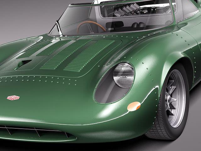 Jaguar XJ13 1966 3D Model .max .obj .3ds .fbx .c4d .lwo .lw .lws - CGTrader.com