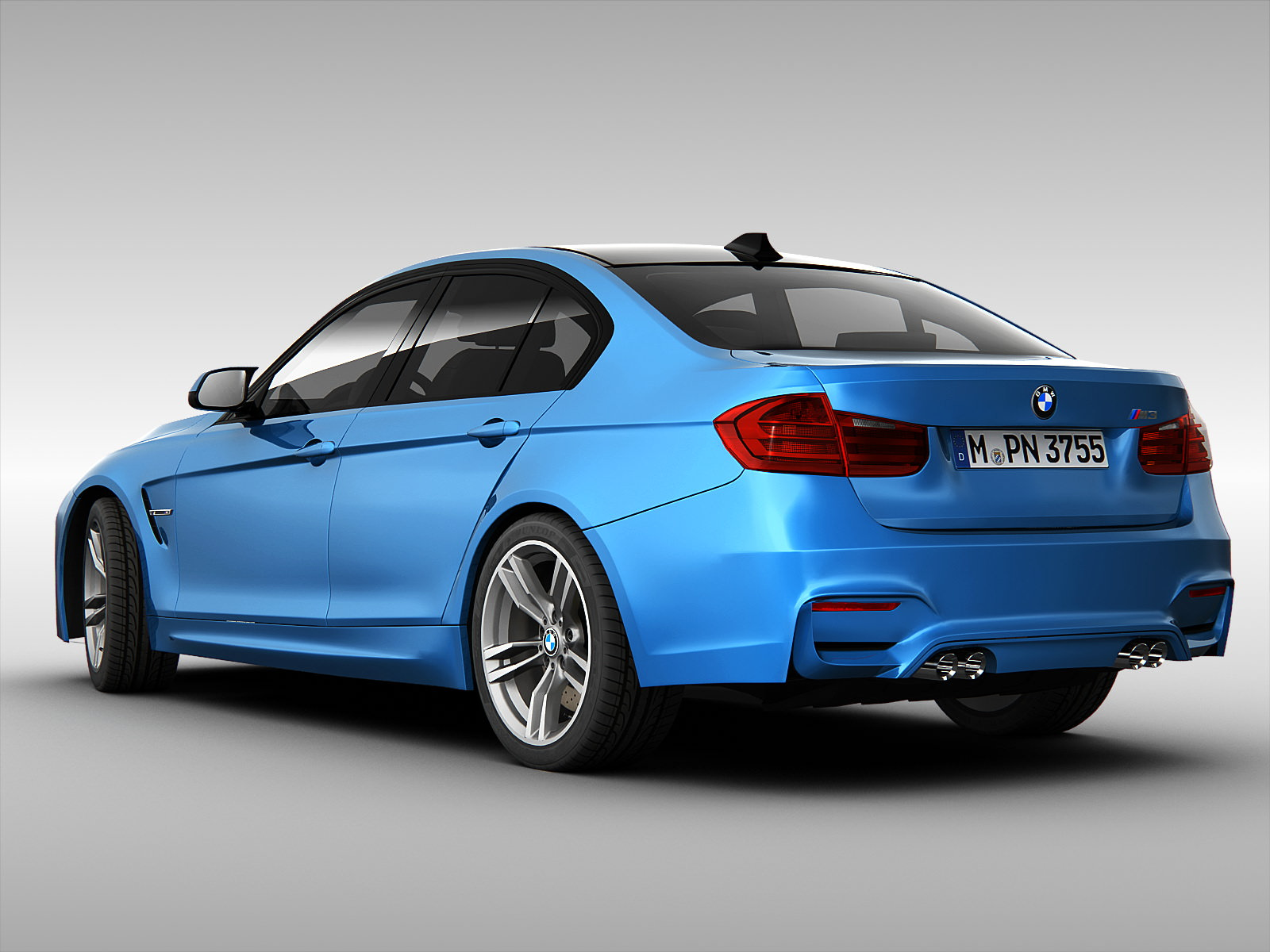 bmw m3 sedan f30 2015 3d model max obj 3ds fbx. Black Bedroom Furniture Sets. Home Design Ideas