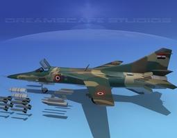 MIG-27 Flogger Egypt 3D model