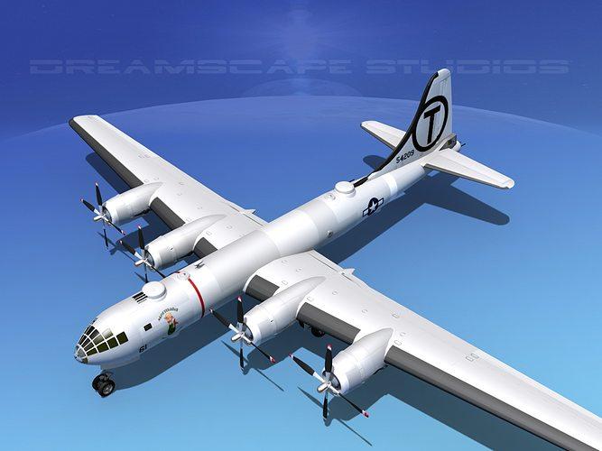 Boeing B-29 Superfortress Mermaid Maryanne