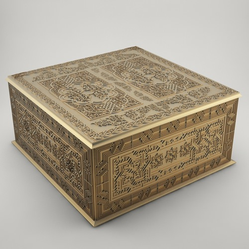 jewelry box 3d model 3d printable stl