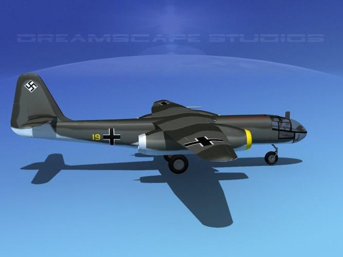 Arado AR 234B Blitz V023D model