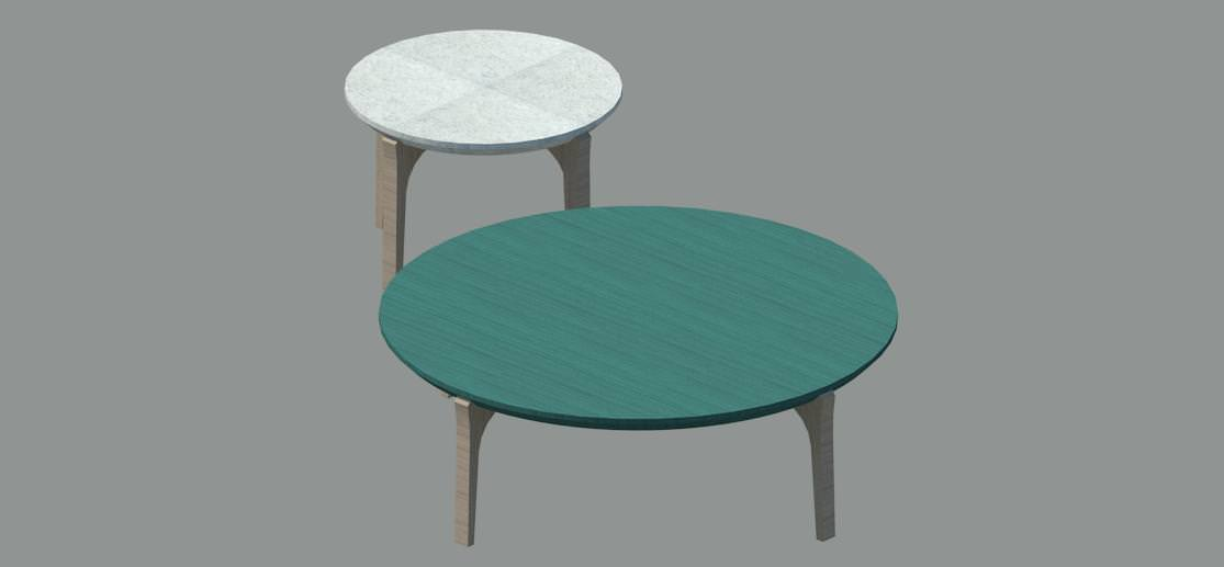 Cocktail table 3d model rfa for Cocktail tables parts