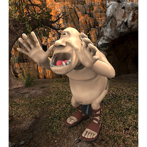 polyphemus for poser 3d model obj pz3 pp2 1
