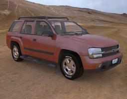 Trailfinder SUV for Poser 3D Model
